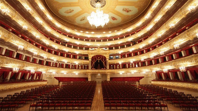 The Bolshoi Theatre- Russia Moscow