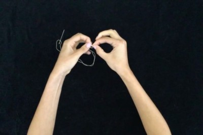 Two Easy Ways to Tie a Knot for Sewing Pointe Shoes