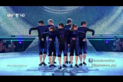Amazing Dub-step Irish Tap Dancing Group