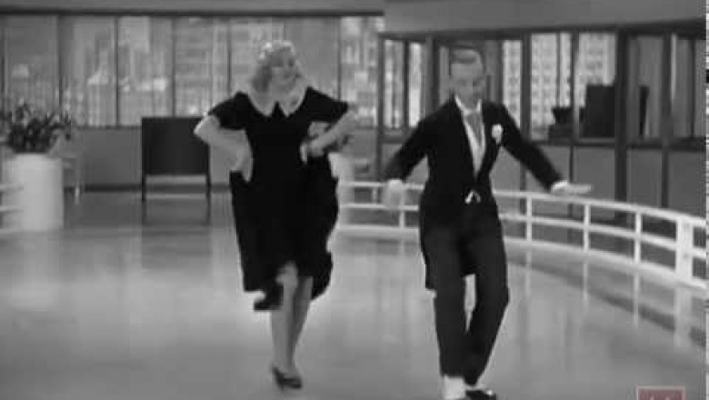 The Legendary Fred Astaire Ginger Rogers Pick Yourself Up Dance Buzz